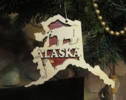 alaska ornament etsy