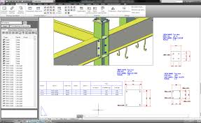 autocad structural detailing u2013 steel fabrication drawings tutorial