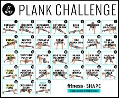 Challenge Your The Ultimate 30 Day Plank Challenge For Your Strongest