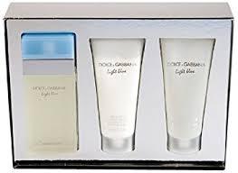 dolce and gabbana light blue gift set amazon com light blue by dolce gabbana 3 piece gift set 3 4 oz