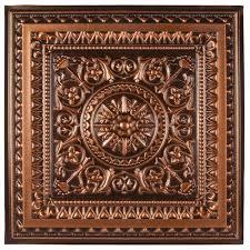 copper ceiling tiles ceilings home depot