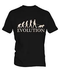 australian shepherd ebay german shepherd evolution of man mens t shirt tee top dog lover