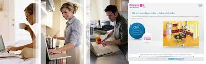 cuisine virtuelle roche diabetes care innove avec la cuisine virtuelle pour