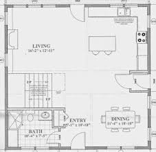 house plan apartments open concept cottage floor plans small