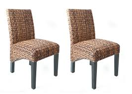Wicker Dining Chairs Indoor Furniture Natural Seagrass Furniture For Eco Friendly Furniture
