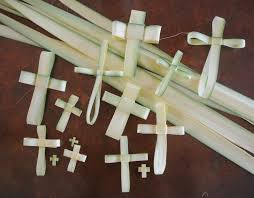 palm crosses for palm sunday beth volpini palm crosses