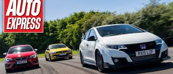 lexus ct vs honda civic can the new honda civic type r slay the renault megane trophy and