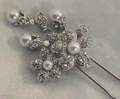 decorative hair pins swarovski rhinestone bridal hair pins