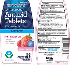 being well antacid tablet chewable save a lot food stores ltd