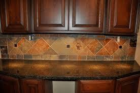 Granite Tile Kitchen Countertops by Kitchen Backsplashes With Granite Countertops Brown Glass