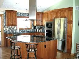 natural wood kitchen cabinets natural wood color kitchen cabinets dark cabinet kitchen with black
