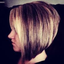 short hair in back long in front stacked bob hairstyles back view stacked angled bob long front