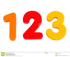isolated numbers 1 2 3 stock photography image 10118752