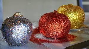 Halloween Crafts At Home Making Glitter Pumpkins A Fun Halloween Craft For Kids