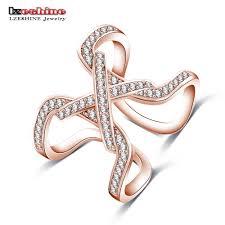 finger ring design aliexpress buy lzeshine new design womens finger ring