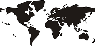 World Map Icon by Clipart World Map
