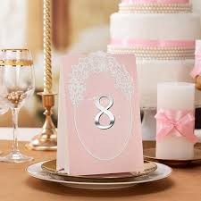 aliexpress com buy 5 x wedding table numbers number cards baby