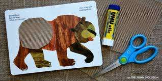 brown bear brown bear crafts activities printables
