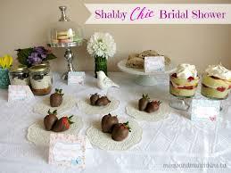 shabby chic bridal shower moms u0026 munchkins