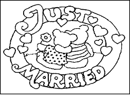 amazing free printable wedding coloring book pages fro 6064