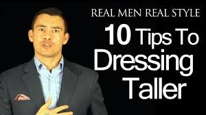 how to dress taller 10 tips for short men youtube