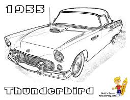 muscle car coloring pages download print free