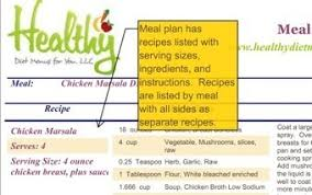 menu for diabetic diabetic diet meal and menu plans with recipes scoop it