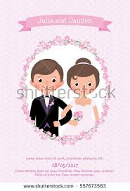 wedding card to groom from invitation wedding card groom stock vector 557673583