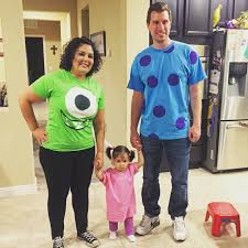 family halloween costumes 2014 diy monster u0027s inc family costume all hallows u0027 eve pinterest