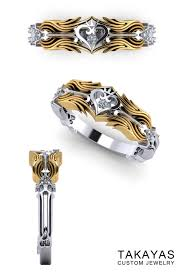 nerdy wedding rings the kingdom hearts wedding ring collection nerdy jewelry