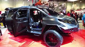 Toyota Sienna 2015 Release Date Toyota Ultimate Utility Vehicle Sema 2015 Youtube