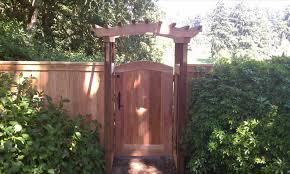 trellis fence gate home u0026 gardens geek