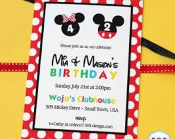 60 best mickey u0026 minnie twins 2nd birthday party images on