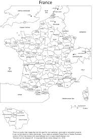 6 best images of printable map of france free printable france