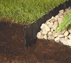 garden lowes garden edging flower bed fencing stone retaining