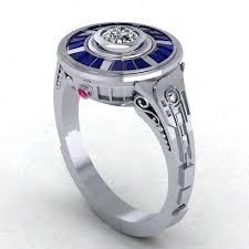r2d2 wedding ring buy a made r2d2 impressions in 14 karat white gold