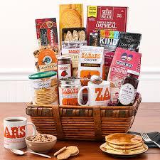 breakfast gift baskets zabar s new york breakfast basket gift basket
