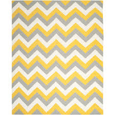 Bright Yellow Bathroom Rugs by Yellow Gray Chevron Rug Roselawnlutheran
