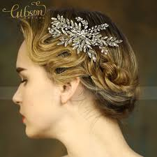 bridal hair clip free shipping handmade shiny rhinestone wedding hair accessories