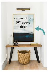 How High To Hang Pictures Hang Wall Art Sellabratehomestaging Com