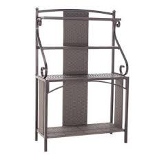 Metal Bakers Rack Baker U0027s Racks Kitchen U0026 Dining Room Furniture The Home Depot