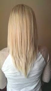 nice hairstyle for short medium hair with one hair band v cut hairstyle for medium length hair http www gohairstyles