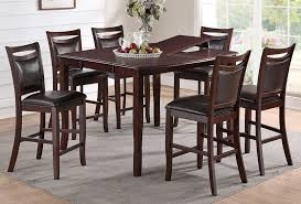Butterfly Leaf Dining Room Table Pub Table Set With Butterfly Leaf
