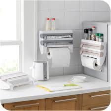 distributeur cuisine distributeur de papier cuisine 3 en 1 pratique shop