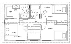 cabin blueprints 20 wide easy to customize home cottage or cabin plans