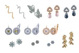 different types of earrings the diamond earring designs that will suit your type