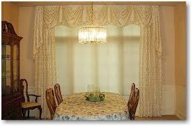 dining room valance blind alley formal window treatments portfolio
