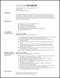 Entry Level Resumes Templates Language Fluency Levels Resume Best Resume Collection