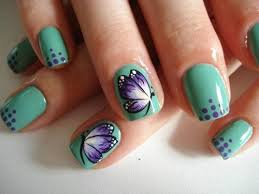 78 best butterfly nails images on pinterest butterfly nail art