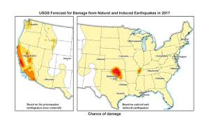 Kansas Time Zone Map by Usgs Oklahoma Kansas Have Significant Potential For Damaging E